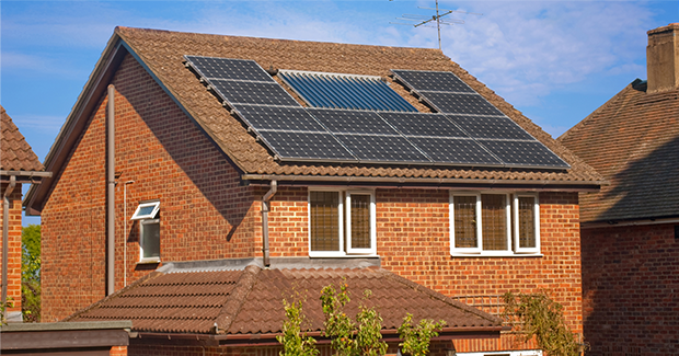 landlord insurance building with solar panels