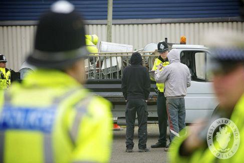 West Midlands Metal Theft Police
