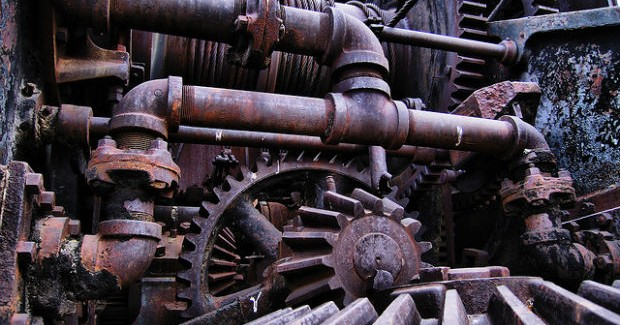 Rusty Pipes and Broken Machinery